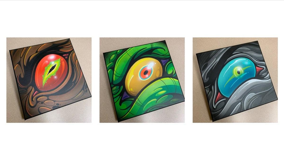 "Image of 10x10 Eyes - ""9 Eyes"" series"