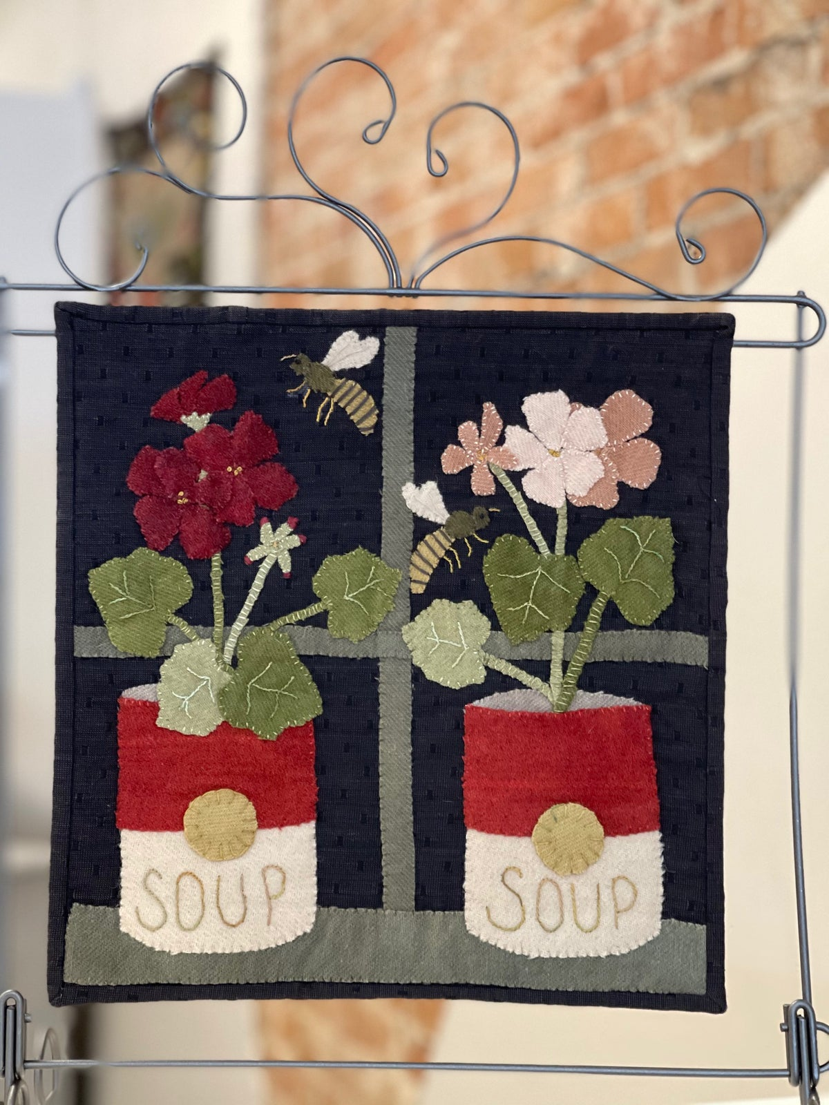 Potted Petals Mystery Stitch a Long Block #8 Kit