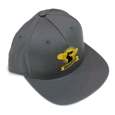 Image of BAB Logo Gray/Yellow Snapback