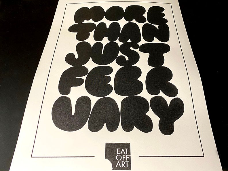 MORE THAN JUST....(LIMITED SCREEN PRINT) POSTER