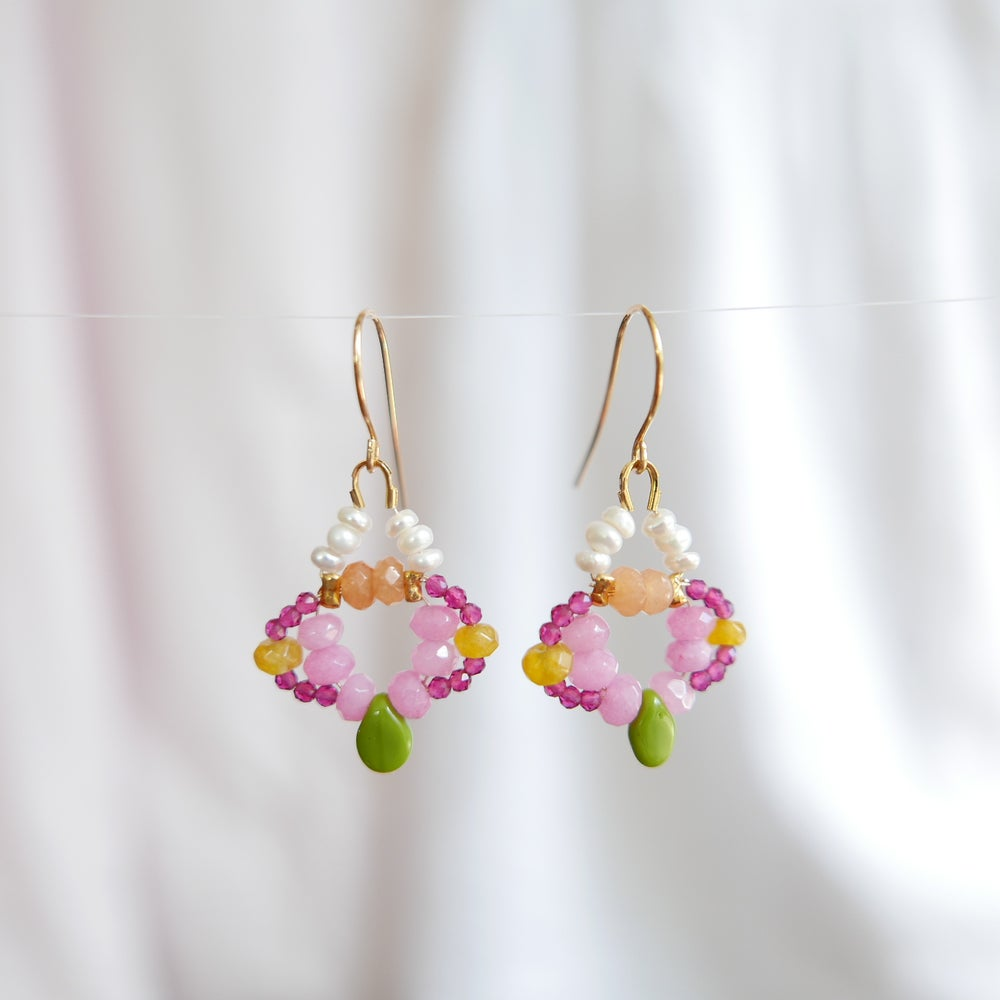 Image of Nova Earrings - Marigold