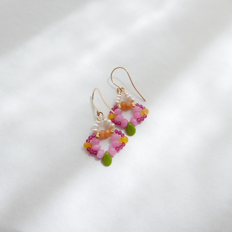 Image of Nova Earrings - Marigold