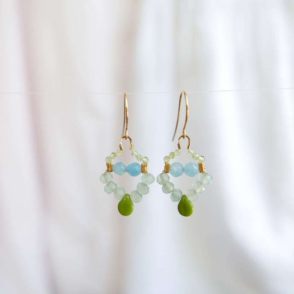 Image of Nova Earrings - Sage