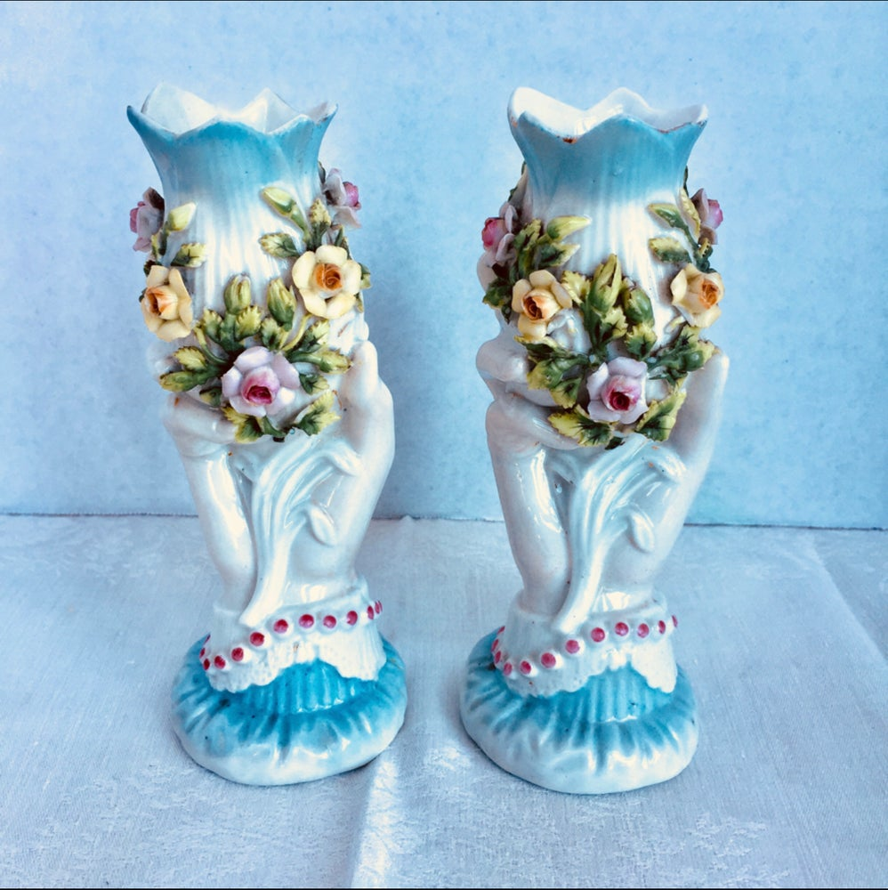 Image of Hand Vases
