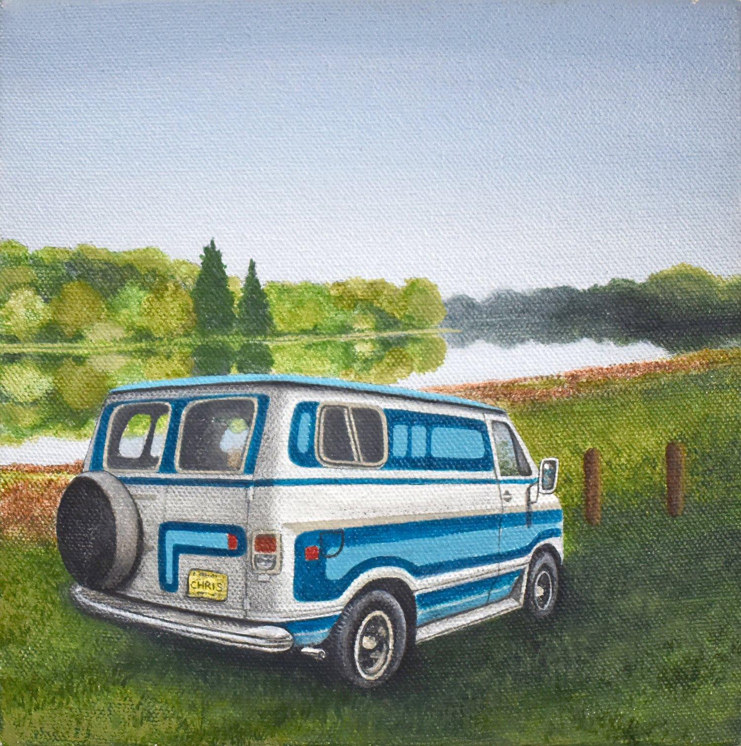 Wheel of Fortunate Series: Van by the River