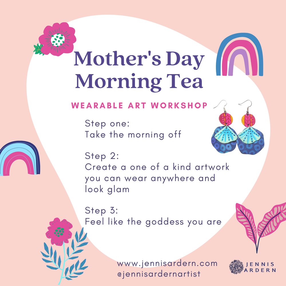 Image of Mother's Day Morning Tea - Wearable Art Workshop
