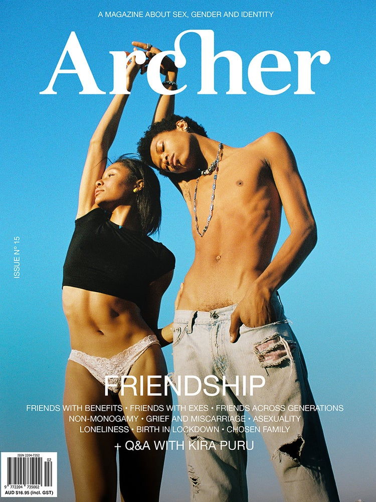 Image of ARCHER MAGAZINE #15 - the FRIENDSHIP issue