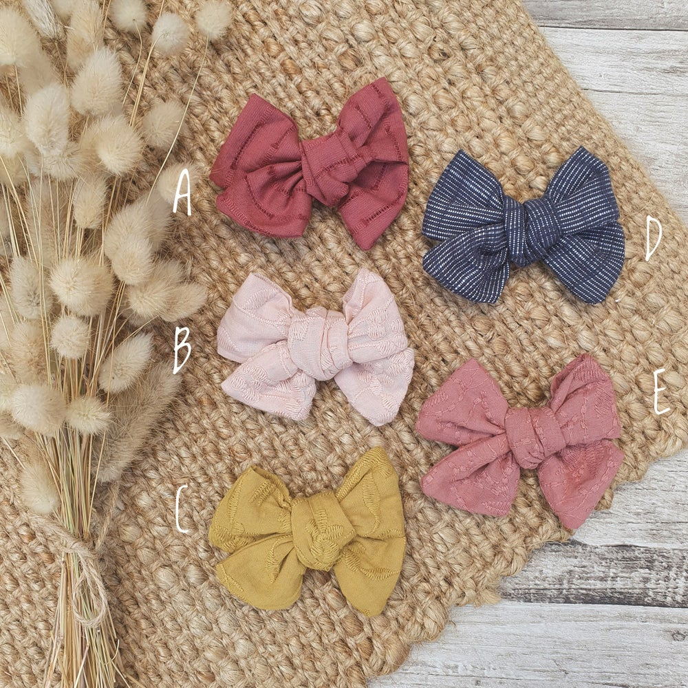Image of Hand Tied Bows - Textured range