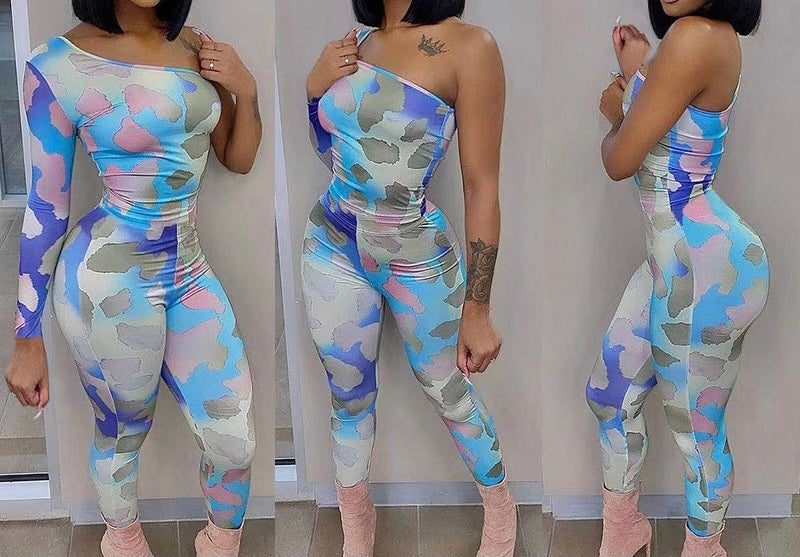 "Image of ""Cotton Candy"" Sleeveless Jumpsuit"