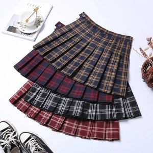 "Image of ""Skool Days"" Plaid Mini Skirts"