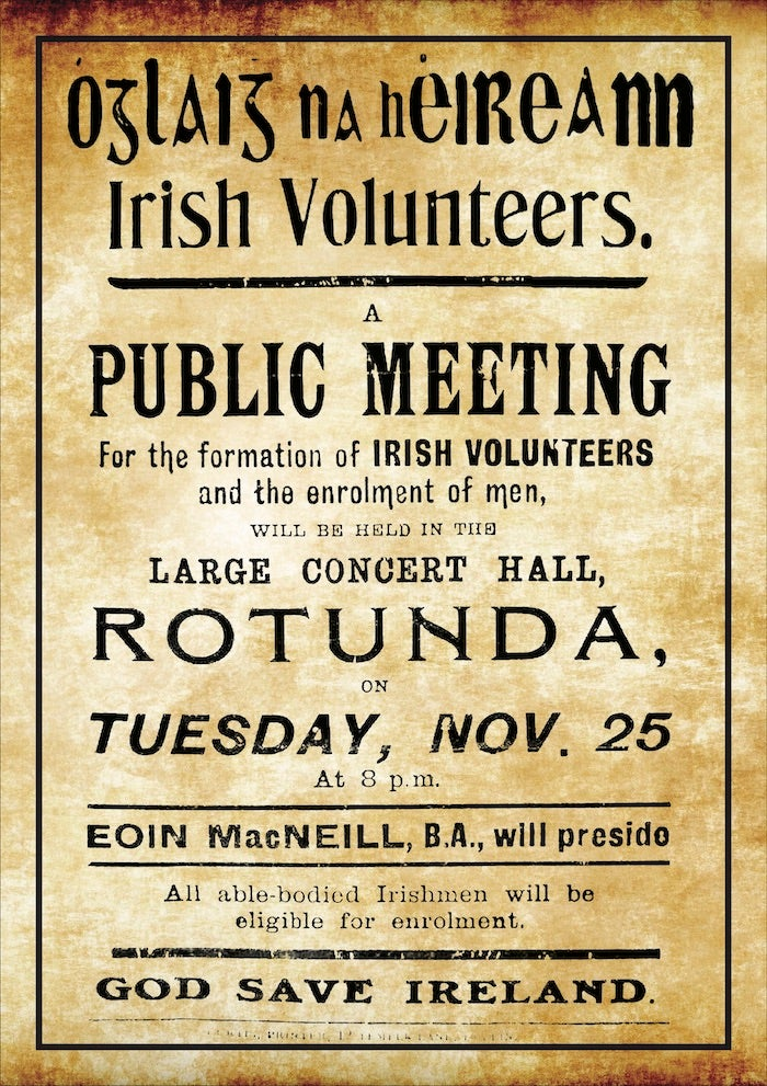 Image of Irish Volunteers Poster
