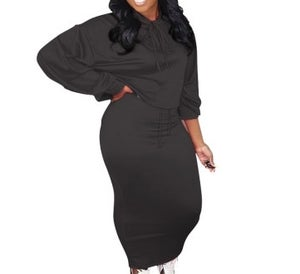"""Image of """"Cool Out"""" Skirt Set"""