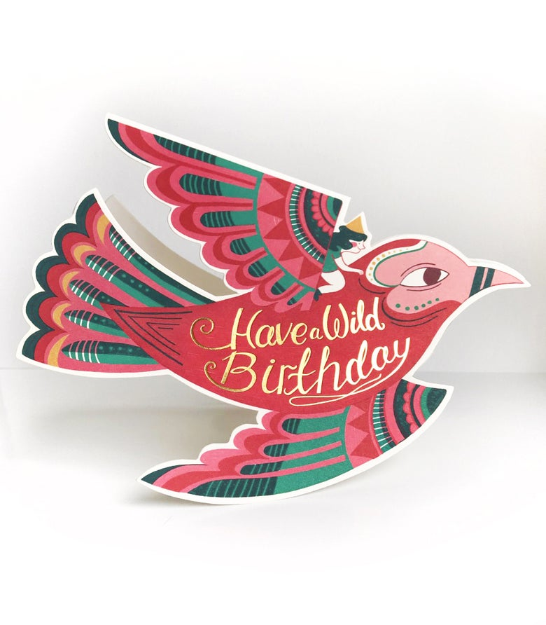 Image of Wild Birthday Card