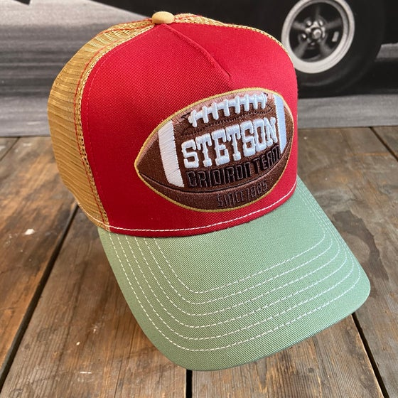 "Image of STETSON MESH CAP ""FOOTBALL"""