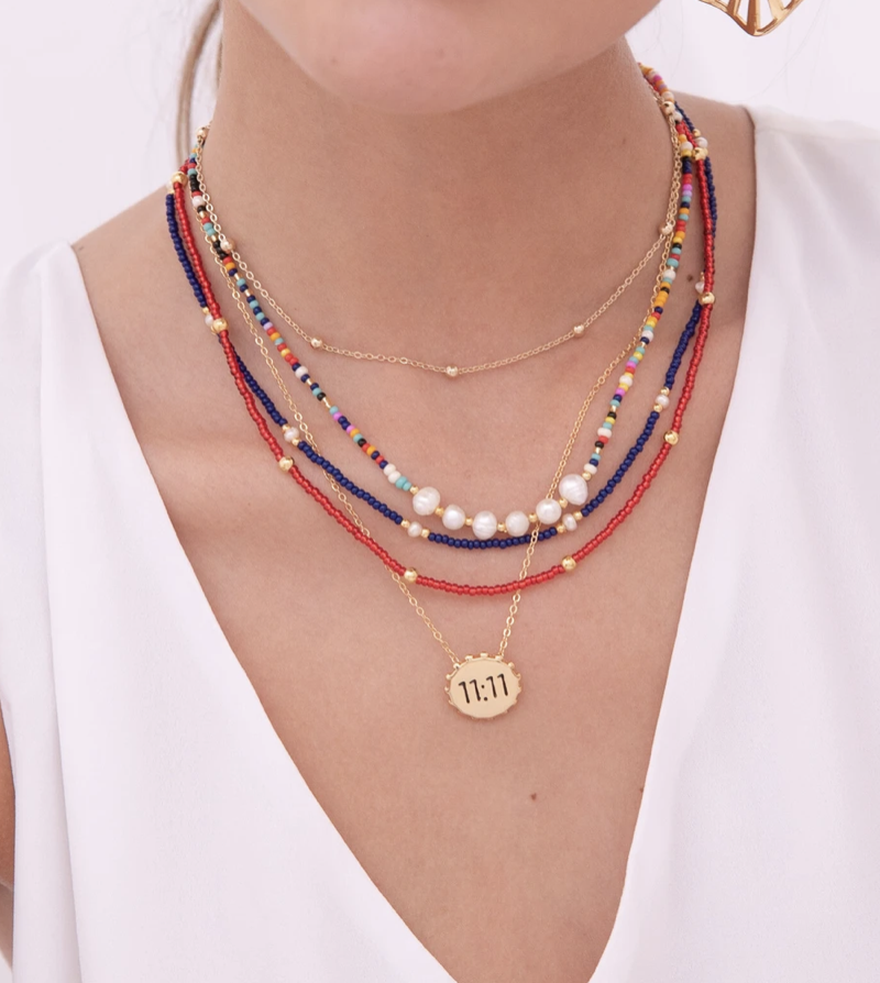 Image of 11:11 Carnaval Necklace