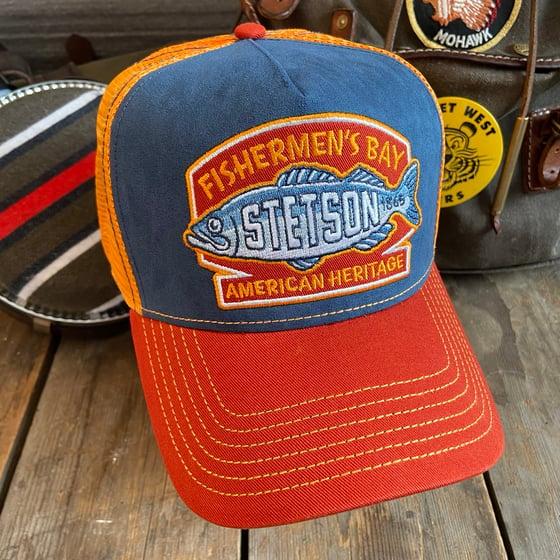 "Image of STETSON MESH CAP ""FISHERMEN'S BAY"""