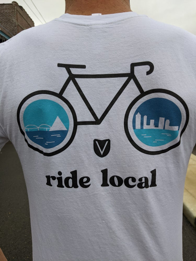 Image of Support Local Tees- White Edition