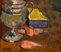 Ake Dahlberg (1910-1975) 'Still Life with Prawns'