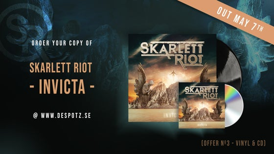 Image of Pre-Order Skarlett Riot - Invicta (LP/CD)