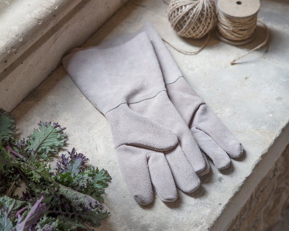 Image of Suede Garden Gloves