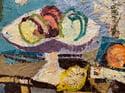 Hans Larsson (1910-1973) 'Still Life with Fruit, 1951'