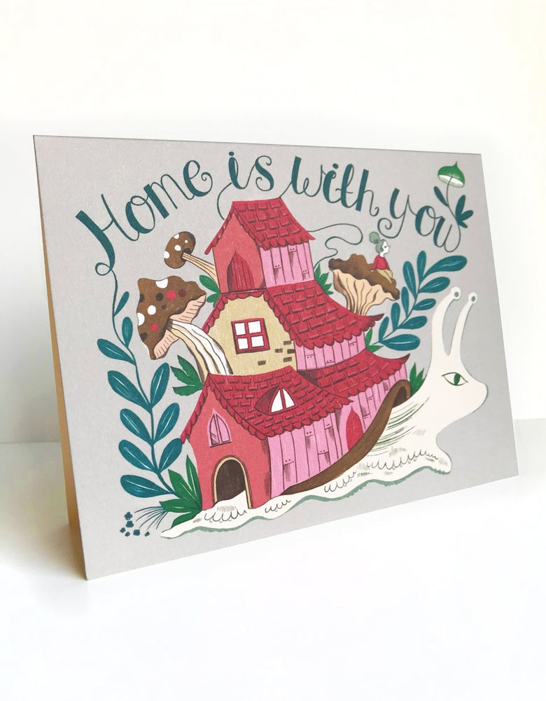Image of Home is with you Card