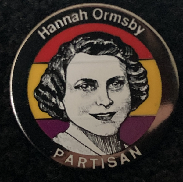 Image of Partisans - Hanna Ormsby Badge