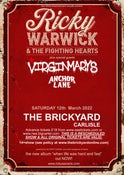 Image of Ricky Warwick & the Fighting Hearts : The Brickyard : Ticket (RESCHEDULED)