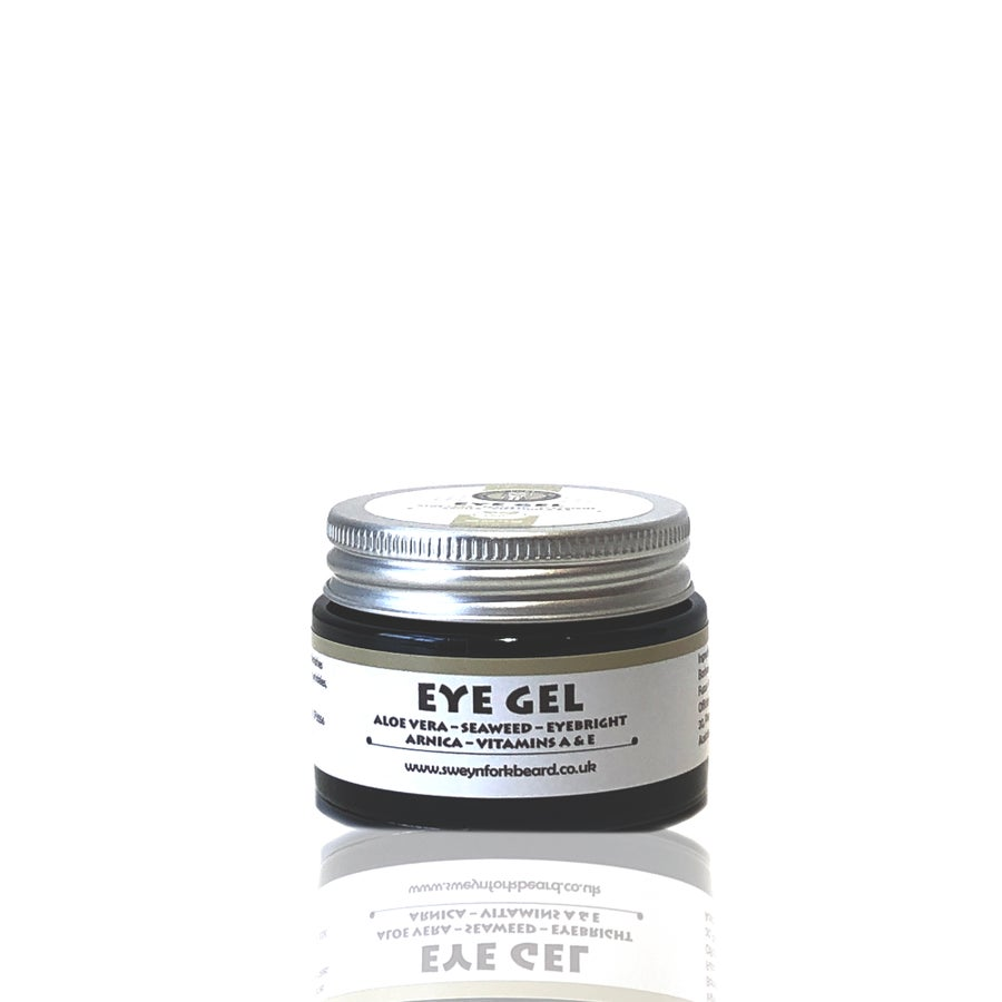 Image of Eye Gel with Aloe Vera + Seaweed + Eyebright + Arnica + Vitamins A & E