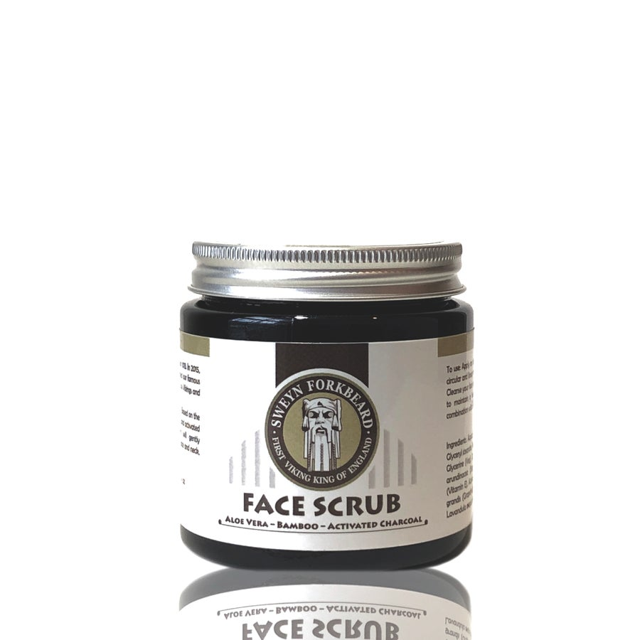 Image of Face Scrub Aloe Vera - Bamboo - Activated Charcoal