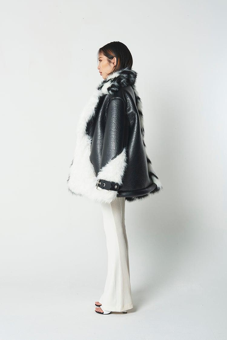 Black & White mustang jacket.