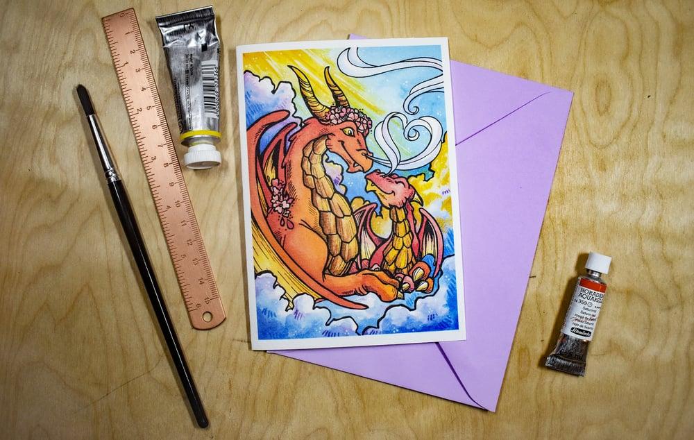 Image of Parent Sky Dragon - Card