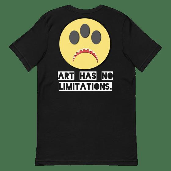 Image of Art has no limitations shirt