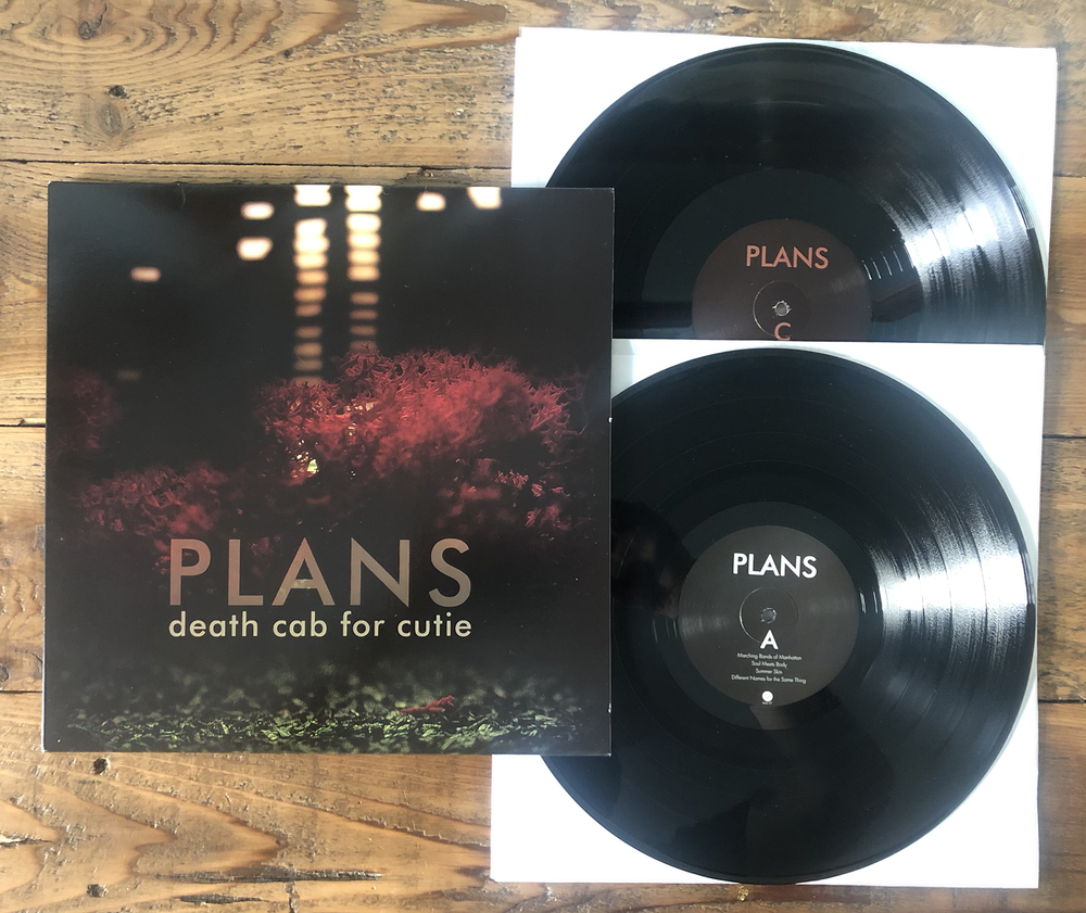 Image of Death Cab For Cutie - Plans (Used)