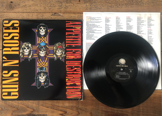 Image of Guns N' Roses - Appetite For Destruction (Used)