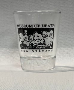 Image of New Orleans Bed of Skulls Shotglass