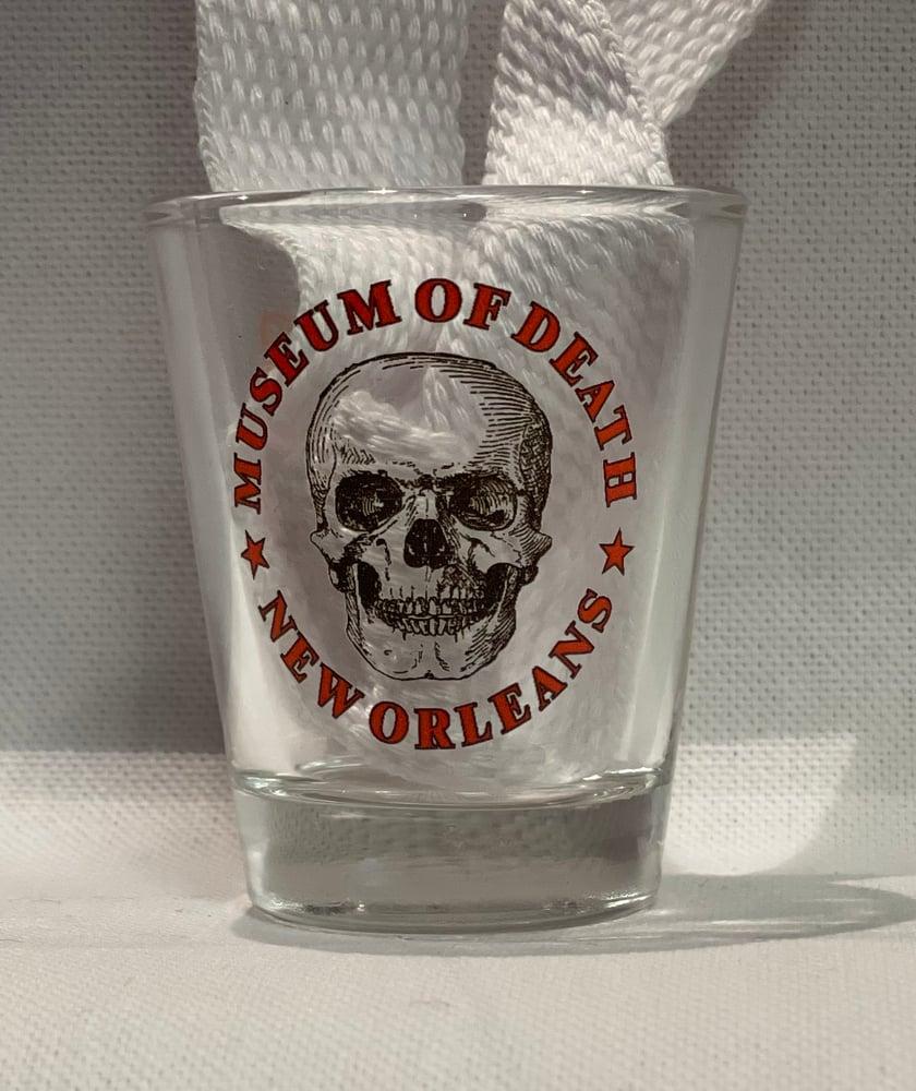 Image of New Orleans Logo Shotglass