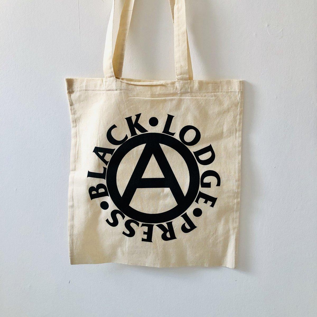 Image of Black Lodge Press tote bag