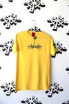 the magic touch tee in yellow
