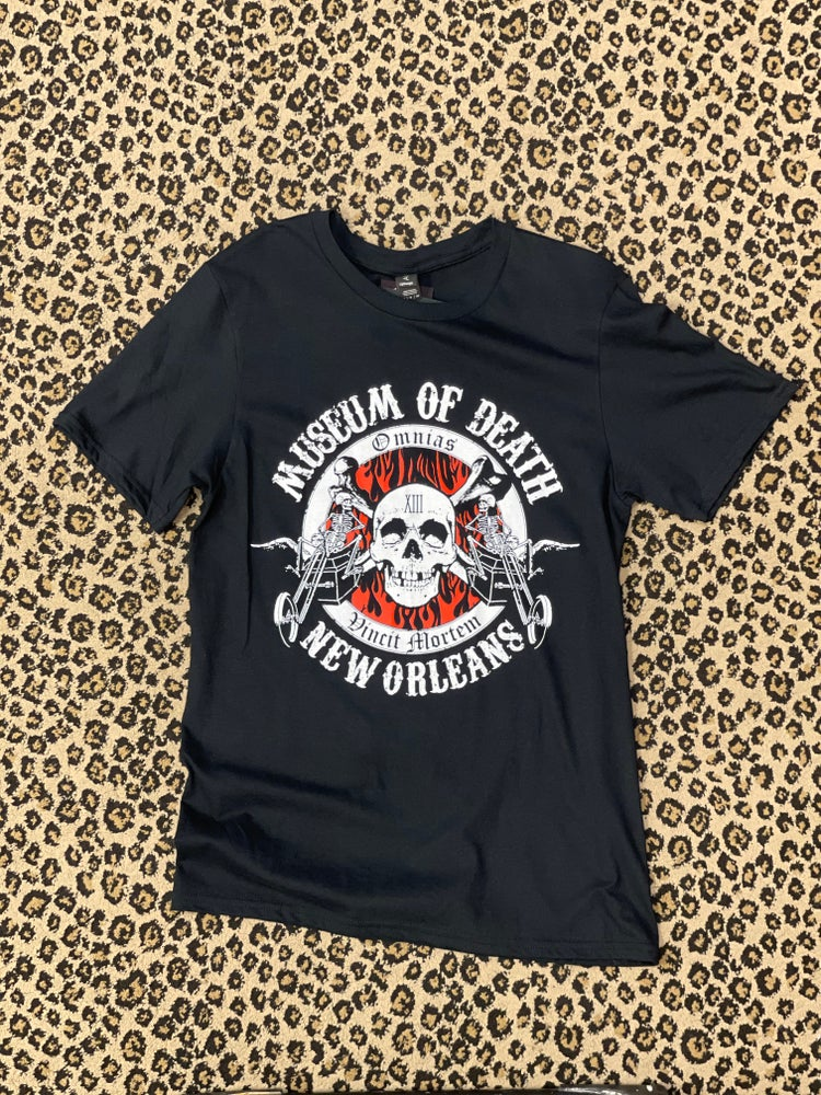 Image of New Orleans Coffin Bikers Tee