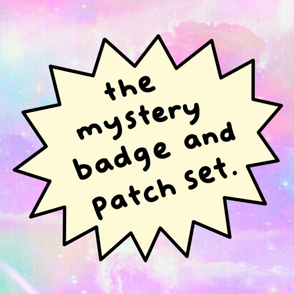 Image of The mystery badge and patch set