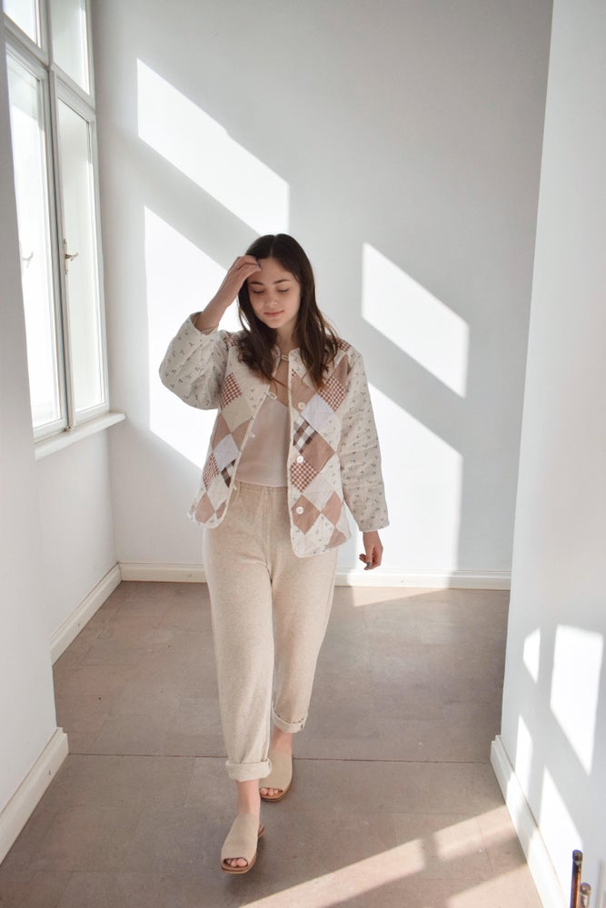 Image of MARGO Patchwork Quilted Jacket