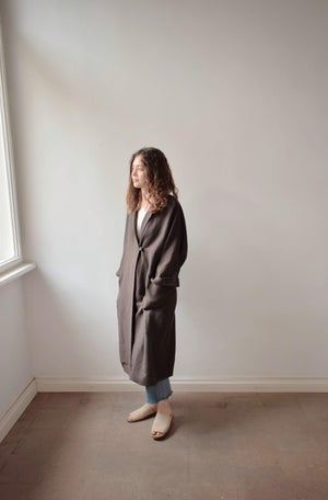 Image of  URSULA Linen Duster Coat