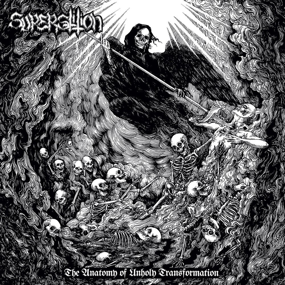 Image of Superstition -  The Anatomy Of Unholy Transformation LP