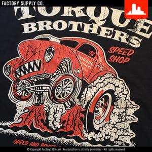 Torque Brothers TB051 - Willys gasser - Red Kap work shirt
