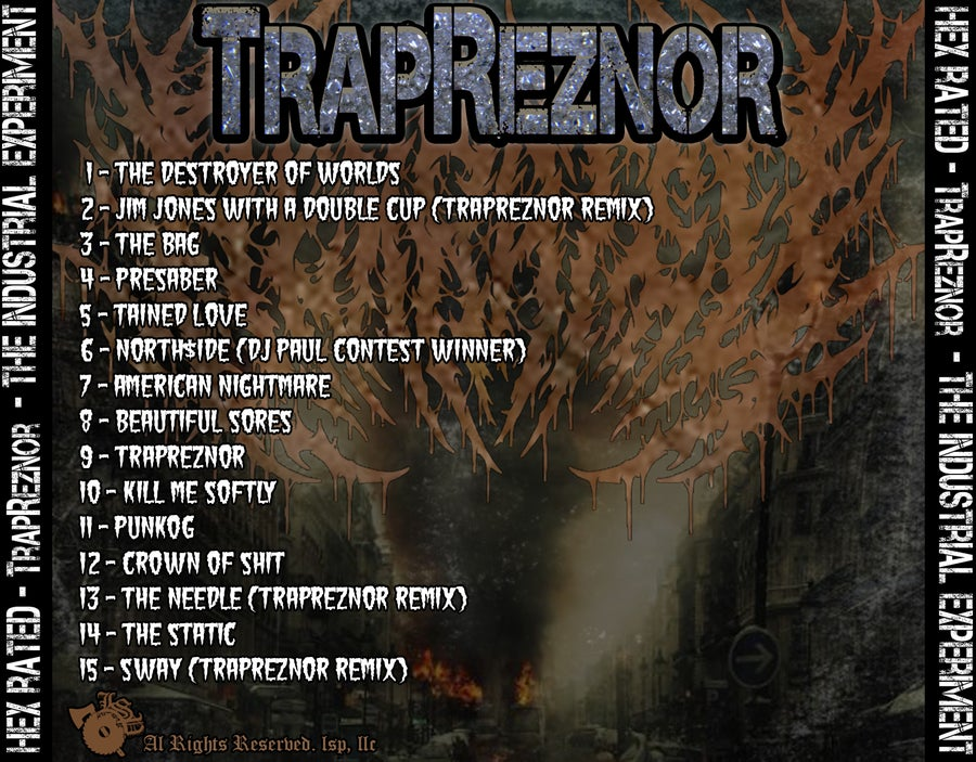 Image of HEX RATED : TRAPREZNOR - THE INDUSTRIAL EXPERIMENT