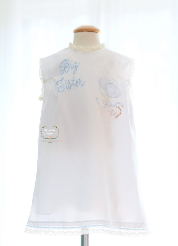 Image of Big Sister Heirloom Day Dress