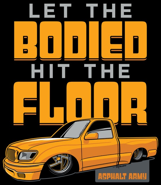 Image of LET THE BODIED HIT THE FLOOR