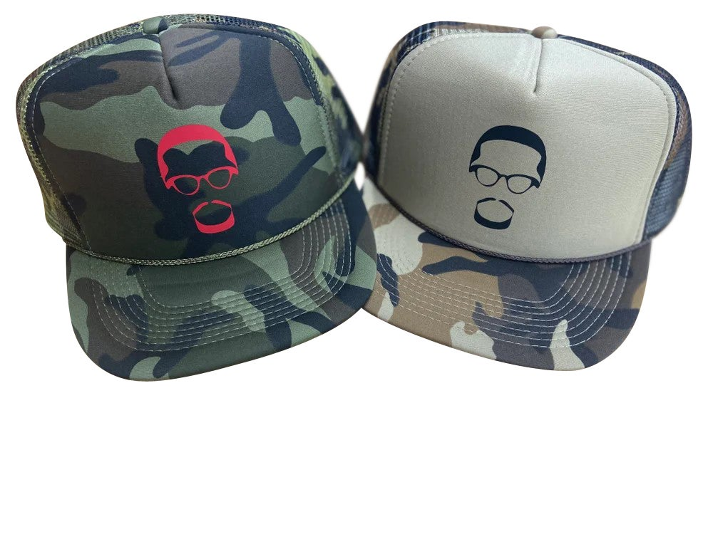 Image of By Any Means Necessary (Camo Trucker)