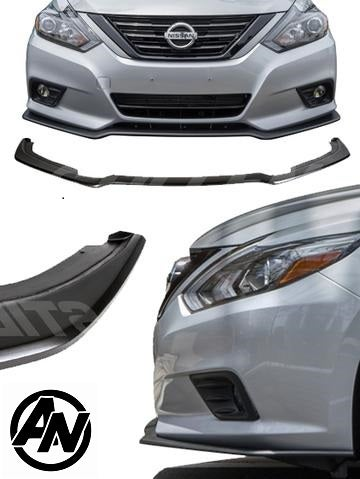 Image of (L33.5) STILLEN POLYURETHANE FRONT SPLITTER (2016-2018 ALTIMA ALL TRIM)